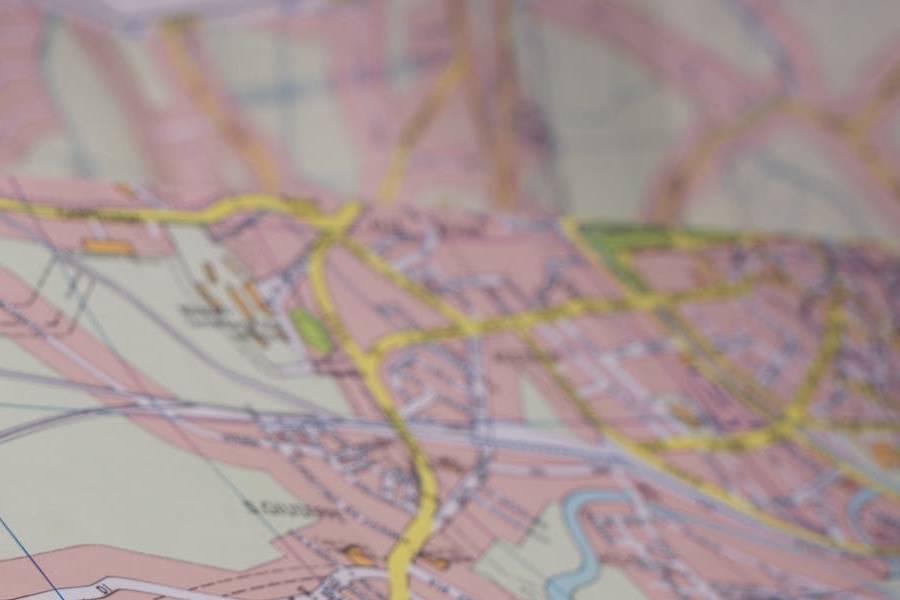mapa do gry miejskiej